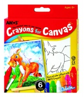 amos crayons for canvas horse art supply