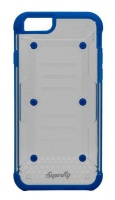 superfly soft jacket ion iphone 66s blue clear
