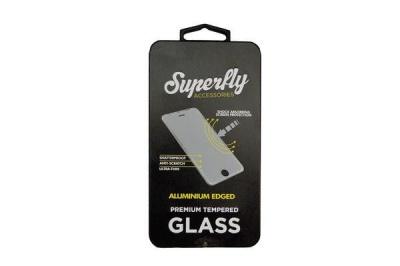 Photo of Superfly Tempered Glass Aluminium Edged iPhone 6 Plus / 6S Plus & iPhone 7 Plus Rose Gold