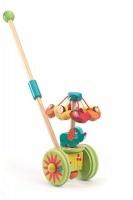 djeco push along toy rouli cuicui walker