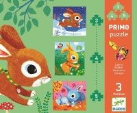 Djeco Progressive Puzzle Rabbits