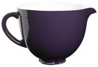 kitchenaid 48 litre ceramic bowl regal purple food preparation