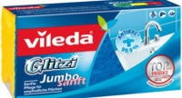 vileda glitzi soft jumbo sponge bathroom accessory