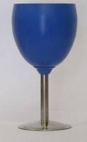 Leisure Quip Leisure Quip Stainless Steel Wine Goblet Blue