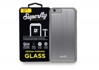 superfly tempered glass and nitro space grey cover iphone 6