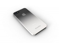 iphone 55sse micro shield fade xtrememac cleargrey