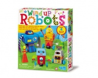 4m wind up robots electronic toy