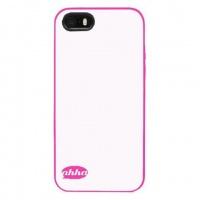 iphone 55sse soft case lulla ahha whitepink