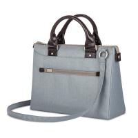 moshi urbana mini slim handbag sky blue