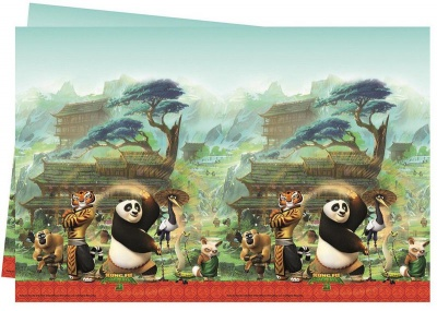 Photo of Kung Fu Panda Plastic Table Cover