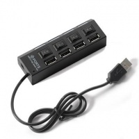 usb 20 hub 4 ports with individual switches