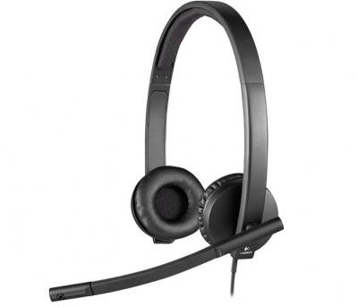 Logitech H570E USB Stereo Headset