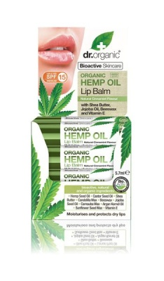 Photo of Dr.Organic Hemp Oil Lip Balm
