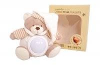 snuggletime beige classical plush natural glow teddy decor