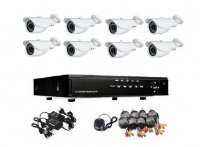 cctv system 8 channel 720p ahd kit 8ch
