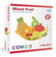 mixed fruit 26 x 25 5cm pretend play