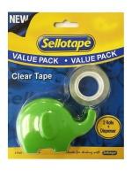 Sellotape Clear Tape Elephant Dispenser