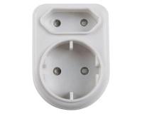Nexus Plug Adaptor White