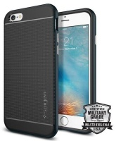 spigen neo hybrid case for iphone 6s metal slate