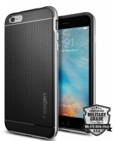 spigen neo hybrid case for iphone 6s plus silver