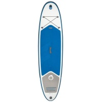tribord decathlon inflatable 107 stand up paddle blue