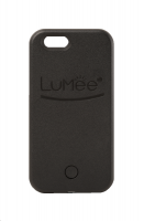 lumee lighted cell phone case for iphone 55sse black