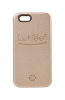 lumee lighted cell phone case for iphone 55sse rose gold