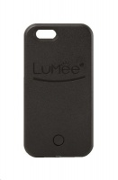 lumee lighted cell phone case for iphone 6s plus black