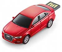 audi usb flash drive a3 limo red 4gb
