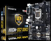 gigabyte h110m ds2 skt1151 m atx motherboard