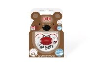 bibi 0 6m silicone soother papa is the best decor