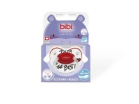 bibi 6 16m silicone soother papa is the best decor