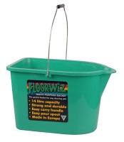 floorwiz pro bucket green bathroom accessory