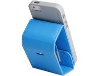 capdase folder case upper polka iphone 5 and 5s se blue