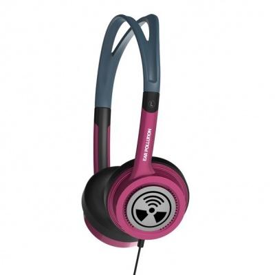 Photo of Zagg iFrogz Toxix Headphones - Hot Pink