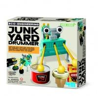 4m eco engineering junkyard drummer electronic toy