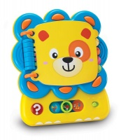 winfun caesar the lion lets read electronic toy