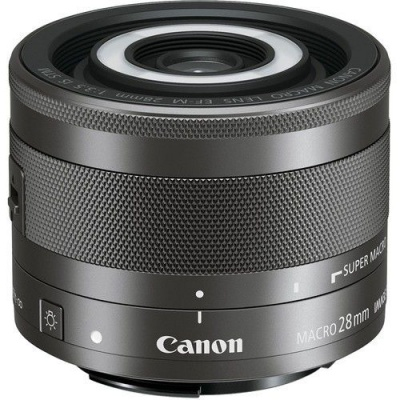 Photo of Canon EF-M 28mm f 3.5 IS STM Macro Lens