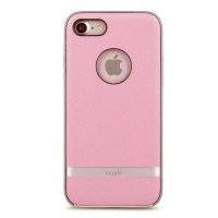 moshi napa case for apple iphone 7 melrose pink