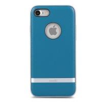 moshi napa case for apple iphone 7 marine blue