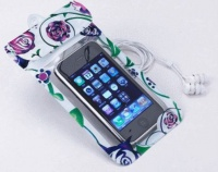 floral waterproof iphone or samsung case up to 10m