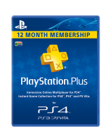 playstation network card plus 365 day ps4ps3pspps vita