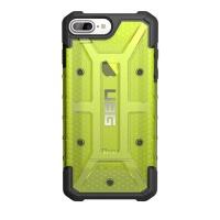 uag plasma case for iphone 76s plus citron yellow