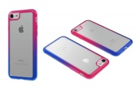 body glove ghost fusion case for iphone 7 blue and pink