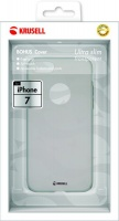 krusell bohus cover for iphone 7 transparent grey