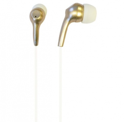 Photo of iFrogz Bolt Plus Earbuds with Mic - Gold