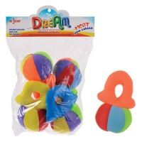 babys soft toy balls pack of 4 the have bells bath toy