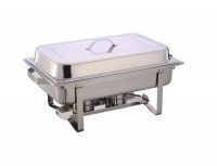11 liter single tray chafing dish food warmer hob