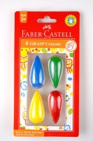 faber castell grasp crayons blister of 4 crayon
