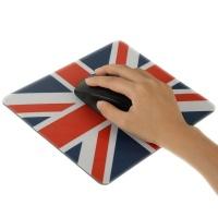 tuff luv union jack mouse pad